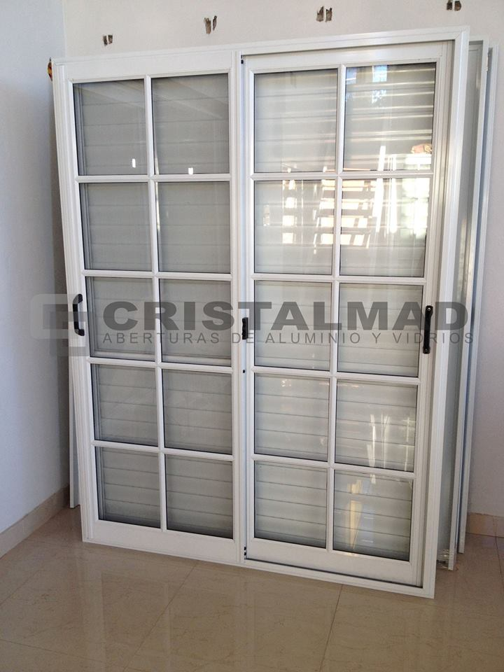 Cristalmad aberturas categorias for Aberturas de aluminio blanco precios rosario